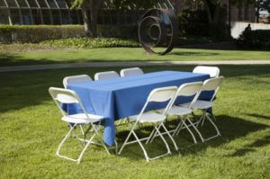Table and Chair Rental Miami
