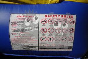 Bounce house Safety Rules