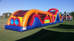 bounce house obstacle courses