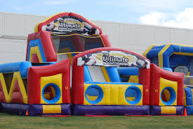 inflatable castles obstacle courses