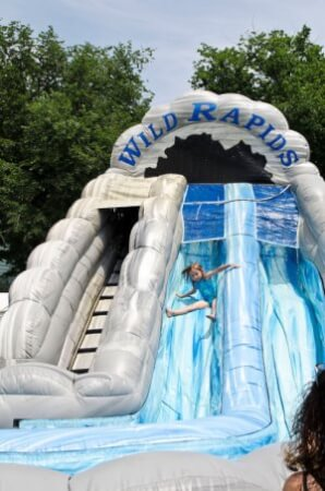 Wild rapids water slide rentals Miami