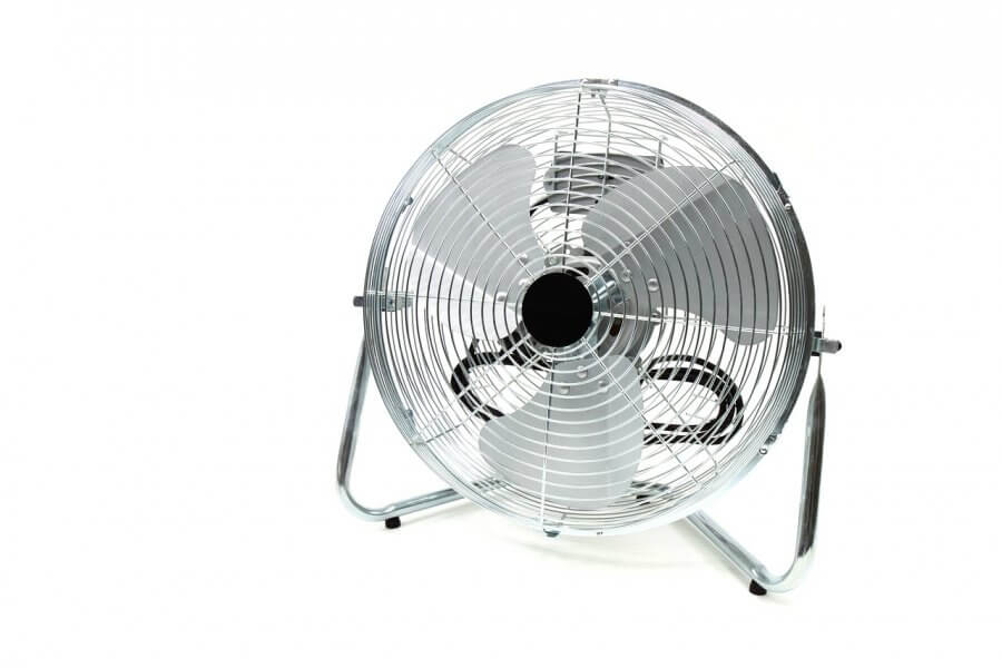Get fresh air with a fan