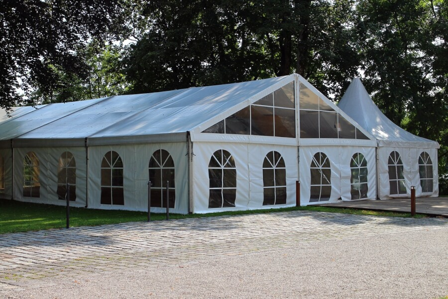 marquee-tent for event