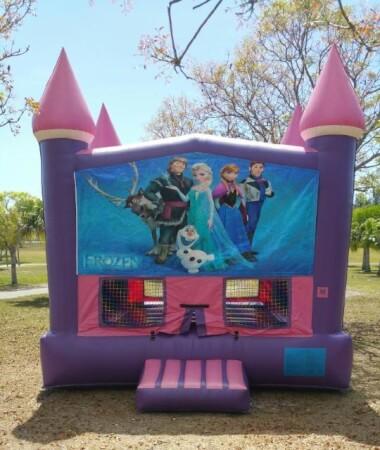 Disney Frozen Theme Inflatable Castle