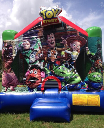Toy Story inflatable castles themes