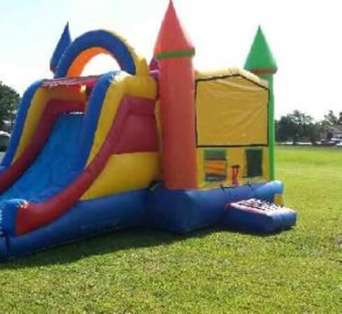 buying inflatable bouncers with slide
