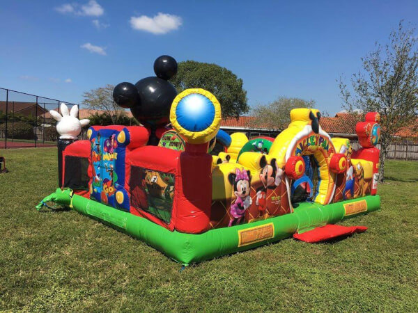 toddler Mickey Park inflatable castle rentals