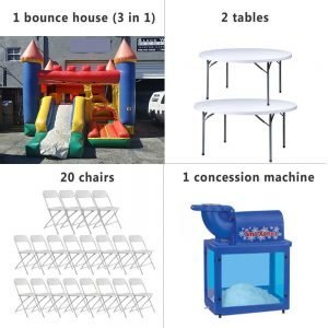 Party Rental Package 4