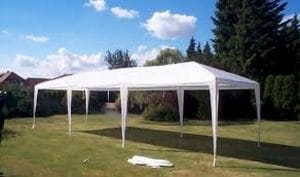 Tent rental 10x30