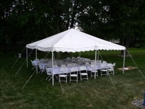tent for rent 20x20